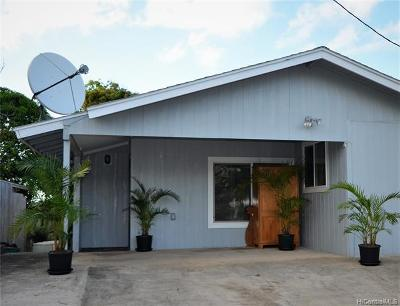 Kahuku Single Family Home For Sale: 56-419 Leleuli Street