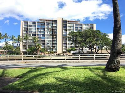 Honolulu HI Condo/Townhouse For Sale: $395,000