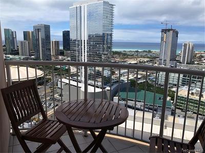 Hawaii County, Honolulu County Rental For Rent: 801 S King Street #3102