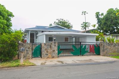 Kahuku Single Family Home For Sale: 56-335 Leleuli Street