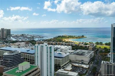 Honolulu Condo/Townhouse For Sale: 1296 Kapiolani Boulevard #II-4703
