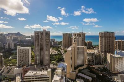 Hawaii County, Honolulu County Rental For Rent: 400 Hobron Lane #1609