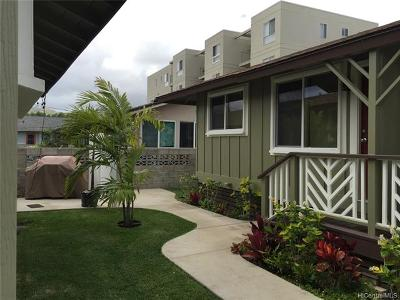 Central Oahu, Diamond Head, Ewa Plain, Hawaii Kai, Honolulu County, Kailua, Kaneohe, Leeward Coast, Makakilo, Metro Oahu, N. Kona, North Shore, Pearl City, Waipahu Rental For Rent: 720 Kihapai Place #A1