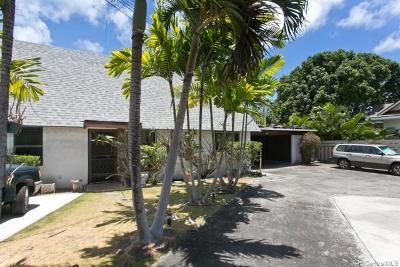 Kailua Single Family Home For Sale: 1226 A Aalapapa Drive