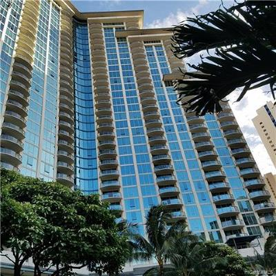 Hawaii County, Honolulu County Rental For Rent: 1837 Kalakaua Avenue #2210