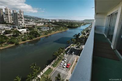 Honolulu Condo/Townhouse For Sale: 2085 Ala Wai Boulevard #A172