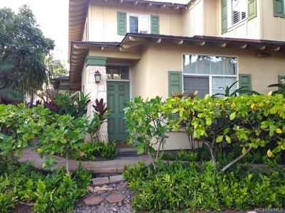 Kapolei Condo/Townhouse For Sale: 92-1001 Aliinui Drive #5A