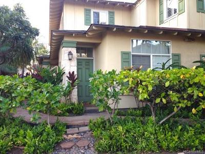 Kapolei Condo/Townhouse For Sale: 92-1001 Aliinui Drive #5A