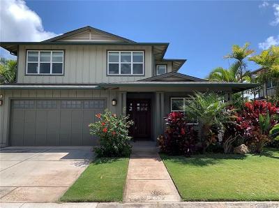 Ewa Beach Single Family Home For Sale: 91-1065 Kuanoo Street