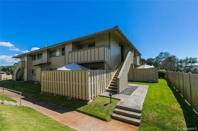Waipahu Condo/Townhouse For Sale: 94-1151 Mopua Loop #L8