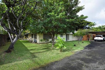 Multi Family Home For Sale: 4738 Kahala Avenue