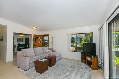 Aiea Condo/Townhouse For Sale: 98-1825 Kaahumanu Street #A