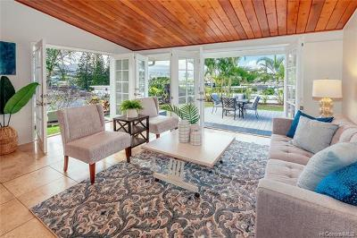 Kailua Single Family Home For Sale: 1414 Kupau Place