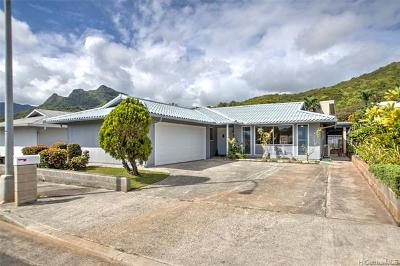 Kailua Single Family Home For Sale: 1277 Akele Street