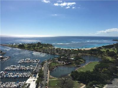 Honolulu Condo/Townhouse For Sale: 1600 Ala Moana Boulevard #3404