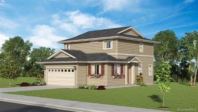 Ewa Beach Single Family Home For Sale: 91-1135 Iliahialoe Loop #Lot 88