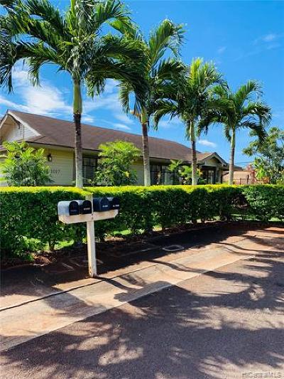 Single Family Home For Sale: 94-1017 Kuoo Street