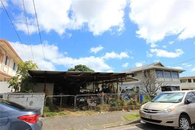 Honolulu Single Family Home For Sale: 1621 Hauiki Street