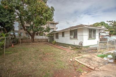 Single Family Home For Sale: 98-001 Kaluamoi Place