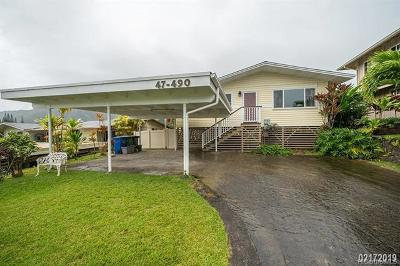 Kaneohe Rental For Rent: 47-490 Poohala Place