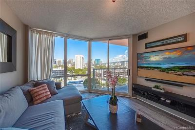 Honolulu County Condo/Townhouse For Sale: 801 S King Street #1105