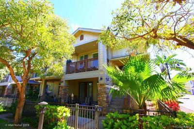 Kapolei Condo/Townhouse For Sale: 540 Manawai Street #201