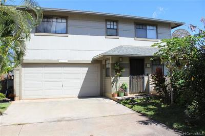 Waipahu Single Family Home For Sale: 94-1035 Kuoo Street