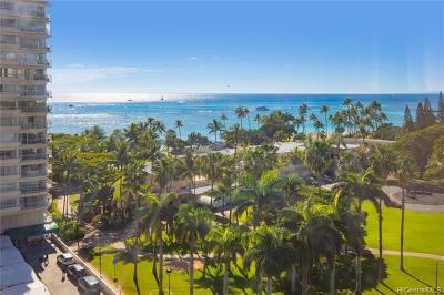 Honolulu Condo/Townhouse For Sale: 223 Saratoga Road #1021