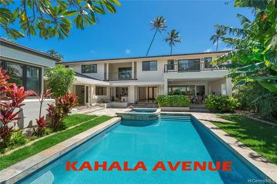Single Family Home For Sale: 4714 Kahala Avenue