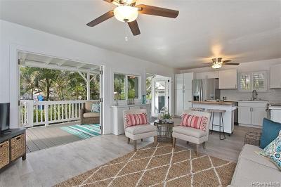 Single Family Home For Sale: 53-904 Kamehameha Highway #B