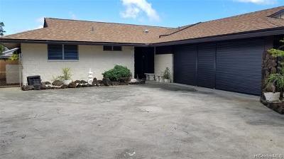 Single Family Home For Sale: 111 Halemaumau Street