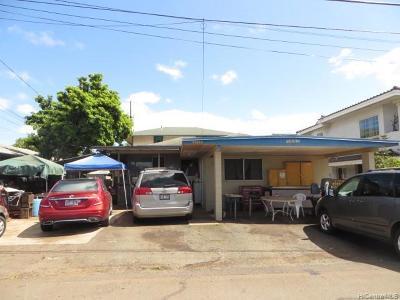 Single Family Home For Sale: 94-861 Awanei Street