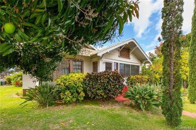 Honolulu Single Family Home For Sale: 3335 Pahoa Avenue
