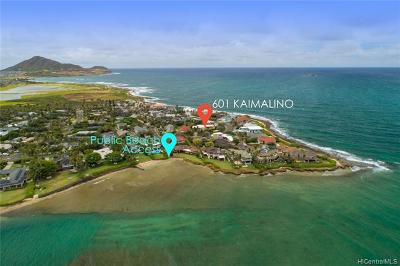 Single Family Home For Sale: 601 Kaimalino Street