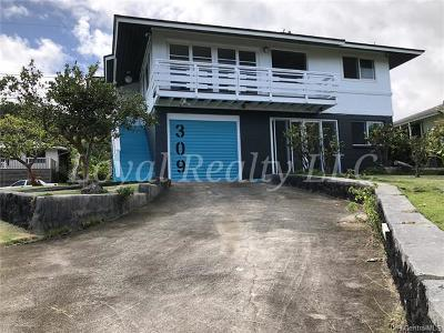 Kaneohe Rental For Rent: 44-309 Mikiola Drive