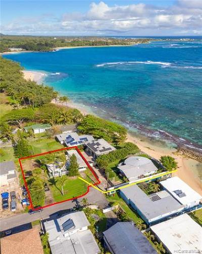 Honolulu County Single Family Home For Sale: 54-005 Kahikole Place