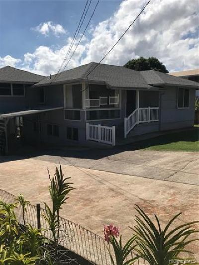 Aiea Single Family Home For Sale: 99-420 Uwau Drive