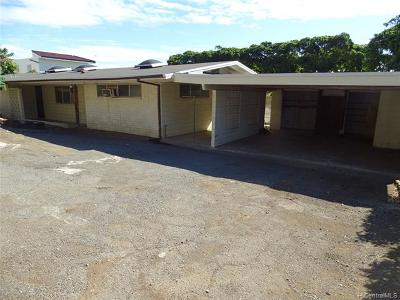 Single Family Home In Escrow Showing: 1206 Laukahi Street