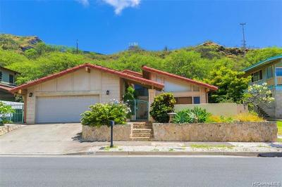 Honolulu Single Family Home For Sale: 1244 Mokuhano Street