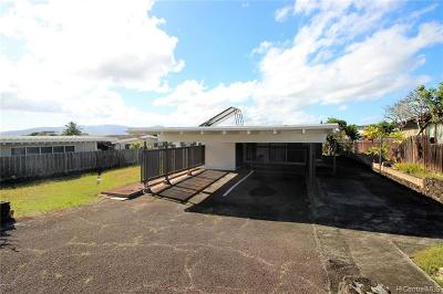Pearl City Single Family Home For Sale: 2158 Komo Mai Drive