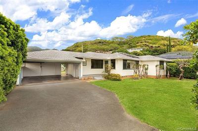 Single Family Home For Sale: 5830 Kalanianaole Highway