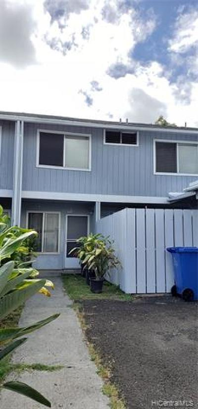 Waimanalo Condo/Townhouse For Sale: 41-718 Kaaumoana Place
