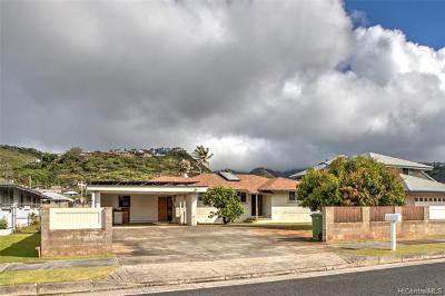 Single Family Home For Sale: 48 Wailupe Circle