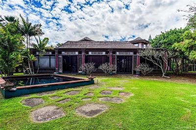 Waialua Single Family Home For Sale: 68-355 Kikou Street
