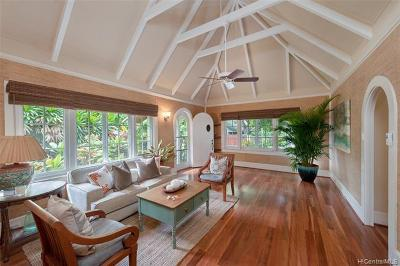Single Family Home In Escrow Showing: 3040 Diamond Head Road