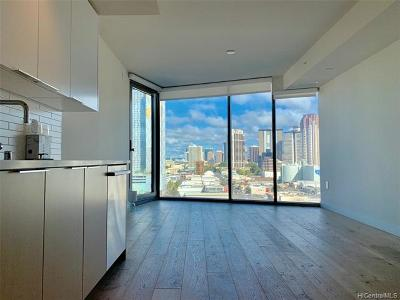 Honolulu Condo/Townhouse For Sale: 1001 Queen Street #1107