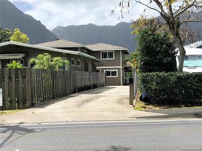 Kaneohe Single Family Home For Sale: 45-708 Kamehameha Highway