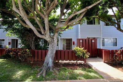 Kapolei Condo/Townhouse For Sale: 92-1246 Makakilo Drive #60