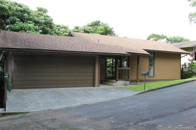 Kaneohe Single Family Home For Sale: 45-610 Haamaile Street
