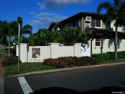 Kapolei Condo/Townhouse In Escrow Showing: 91-1175 Kaiau Avenue #906